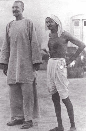 mahatma gandhi height