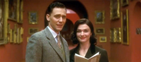 Rachel Weisz (height 5'9'') with Tom Hiddleston in The Deep Blue Sea (2011).