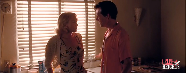 Kevin Bacon (height 5'10'') with Renée Zellweger (height 5'3'') in My One and Only (2009)