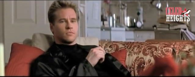 Val Kilmer (6'0'') in The Saint (1997)