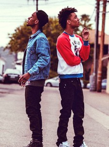 Rae Sremmurd (Swae Lee and Slim Jxmmi)